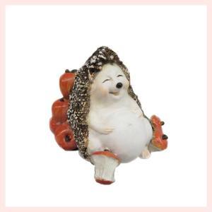 レジン製ハリネズミのミニオブジェ(まんぷく) sshana