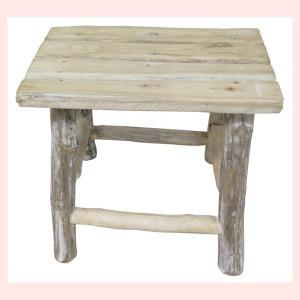 ナチュラルウッドのテーブル(角型)|sshana