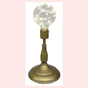 電池式アンティーク調ランプ/エジソン sshana