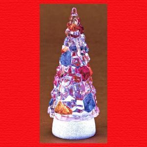 『クリスマス』アクリル製キャンディツリーライト|sshana