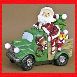 『クリスマス』レジン製LEDギフトカー|sshana
