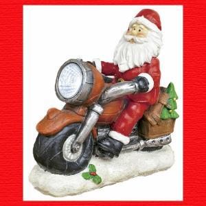 『クリスマス』レジン製LEDバイクサンタ|sshana