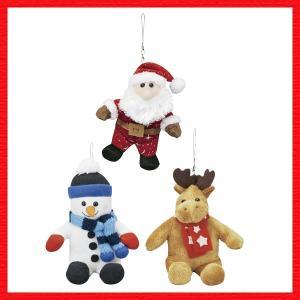 『クリスマス』ストラップ付きメロディトリプルマスコット(アソート24Pセット)|sshana
