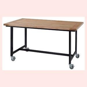 キャスター付ダイニングテーブル(135×80cm)|sshana