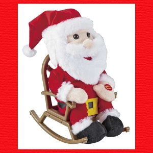 『クリスマス』ロッキングチェアサンタのおもちゃ|sshana