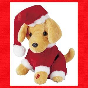 『クリスマス』ランニングドッグのおもちゃ|sshana