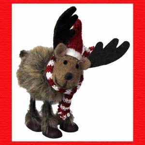 『クリスマス』ウールのマスコット(スタンディング)/レインディア|sshana
