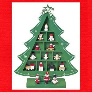 『クリスマス』木製ウィンドウツリー(M)|sshana