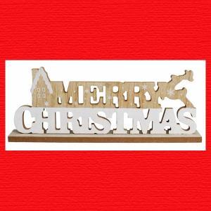 『クリスマス』X'masウッドサイン|sshana