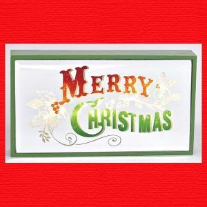 『クリスマス』LEDミラーサイン(Xmas)|sshana