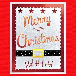『クリスマス』LEDガルバサイン(サンタ)|sshana