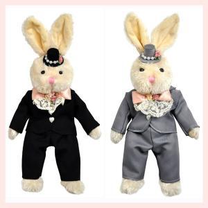 コスプレウサギのぬいぐるみ(タキシード/ボーイ)/2種類|sshana