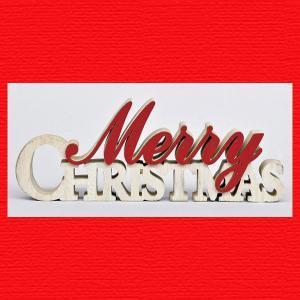 『クリスマス』木製アルファベットレター(S)|sshana