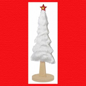 『クリスマス』ファーツリー(L)/ホワイト|sshana