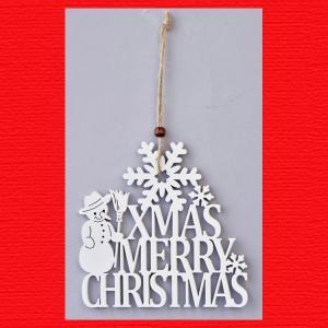 『クリスマス』木製カットレター(A)6Pセット|sshana