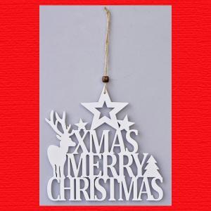 『クリスマス』木製カットレター(C)3Pセット|sshana