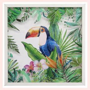 アートフレームアクリルパネル(トゥーカン)/ジャングル|sshana