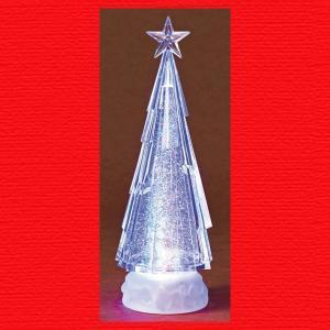 『クリスマス』アクリル製卓上ツリーライト(L)|sshana