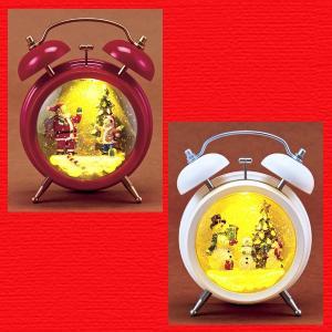 『クリスマス』ミュージックアクアクロック型ライト/2種類|sshana