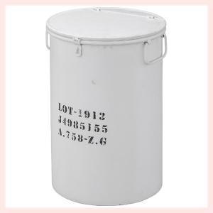 スチール製ダストボックス(LFS-442WH)/ホワイト|sshana