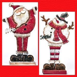 『クリスマス』ウッドデコ(スタンド)/2種類|sshana