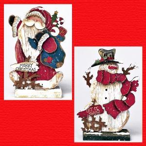 『クリスマス』ウッドデコ(ミニ)/2種類|sshana