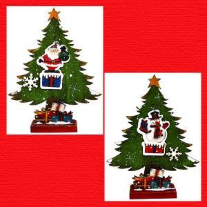 『クリスマス』木製ツリー(オーナメント)/2種類|sshana
