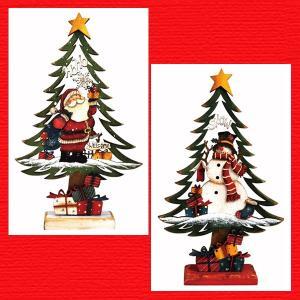 『クリスマス』木製ツリー(31cm)/2種類|sshana