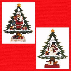 『クリスマス』木製ツリー(22cm)/2種類|sshana