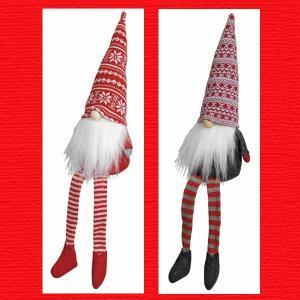 『クリスマス』足ぶらドール(スノーフレークトムテ・L)/2種類|sshana