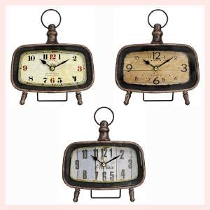 アンティーク調なスクエア置時計/3種類|sshana