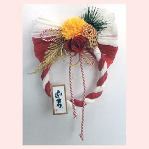カワイイ2019年お正月インテリア(しめ縄)/紅白迎春|sshana