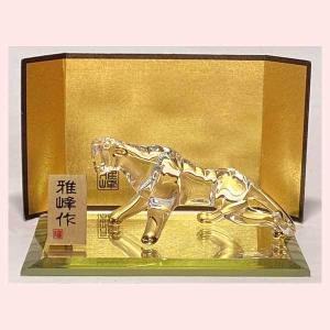 ビードロ 金彩福寅 N-38 sshana