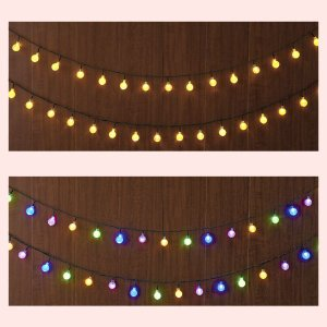 室内用ボールライトチェーン/2種類|sshana