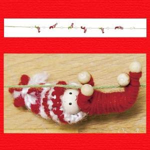 『クリスマス』ヤーンチルドレンガーランド|sshana