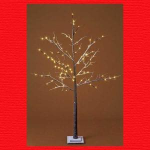『クリスマス』ブラウンブランチライトツリースタンド(180cm)|sshana