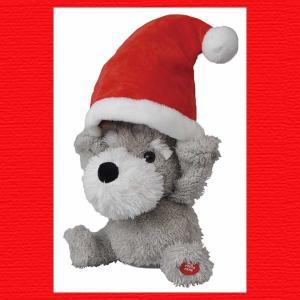 『クリスマス』ピーカーブーのおもちゃ/シュナウザー|sshana
