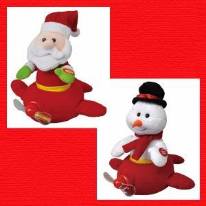 『クリスマス』スイングエアプレーンのおもちゃ/2種類|sshana