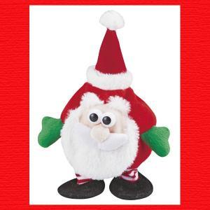 『クリスマス』ものまねサンタのマスコット|sshana