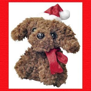 『クリスマス』ものまねトイプードルのおもちゃ|sshana