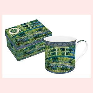 ギフトボックス入りの名画ロイヤルマグカップ(モネ/睡蓮と日本の橋)|sshana