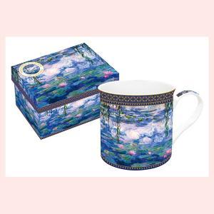 ギフトボックス入りの名画ロイヤルマグカップ(モネ/睡蓮)|sshana