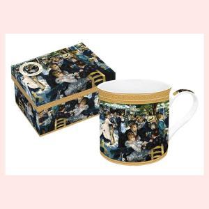 ギフトボックス入りの名画ロイヤルマグカップ(ルノワール/ムーラン)|sshana