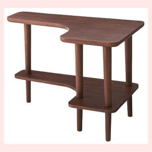 サイドテーブル(NYT-781WAL)/ウォルナット|sshana