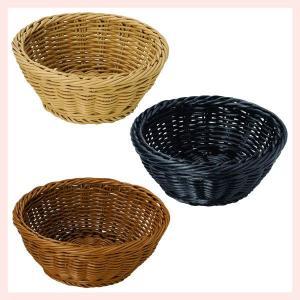 『PP』耐熱・食洗機対応の丸タイプ小物バスケット「18.5×7cm」2Pセット/3種類 sshana