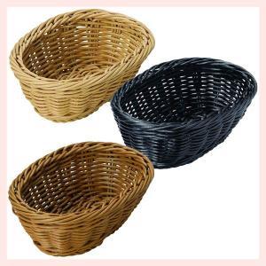 『PP』耐熱・食洗機対応の楕円タイプ小物バスケット「15.5×11×5.5cm」2Pセット/3種類 sshana