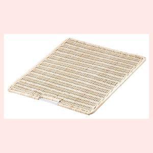 『ラタン』四角タイプディスプレイスノコ「40×50×1.5cm」|sshana