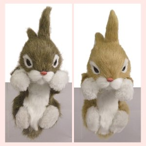 かわいいウサギのハンギングドール/2種類|sshana
