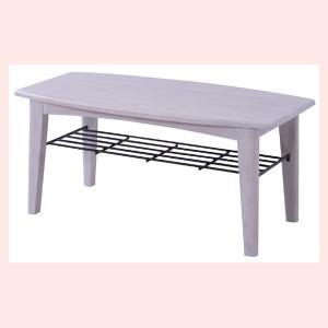 ブリジットセンターテーブル(S)/ホワイト|sshana