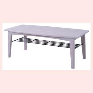 ブリジットセンターテーブル(L)/ホワイト|sshana
